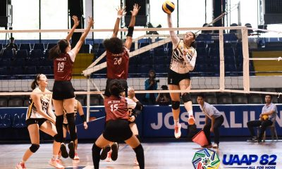Tiebreaker Times UST Jr. Tigresses, NSNU Lady Bullpups remain unscathed in UAAP Girls' Volleyball AdU FEU News NU UAAP UE UP UST Volleyball  UST Girls Volleyball UP Girls Volleyball UE Girls Volleyball UAAP Season 82 Girls Volleyball UAAP Season 82 Renee Penafiel Regina Jurado Regina Diego NU Girls Volleyball Mhicaela Belen Kate Santiago FEU Girls Volleyball Evangeline Alinsug Alexis Miner Adamson Girls Volleyball
