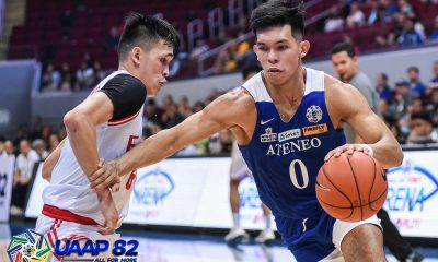Tiebreaker Times Ateneo dissects UE, stretches streak to 16 ADMU Basketball News UAAP UE  UE Men's Basketball UAAP Season 82 Men's Basketball UAAP Season 82 Thirdy Ravena Tab Baldwin Lawrence Chongson Ateneo Men's Basketball Angelo Kouame