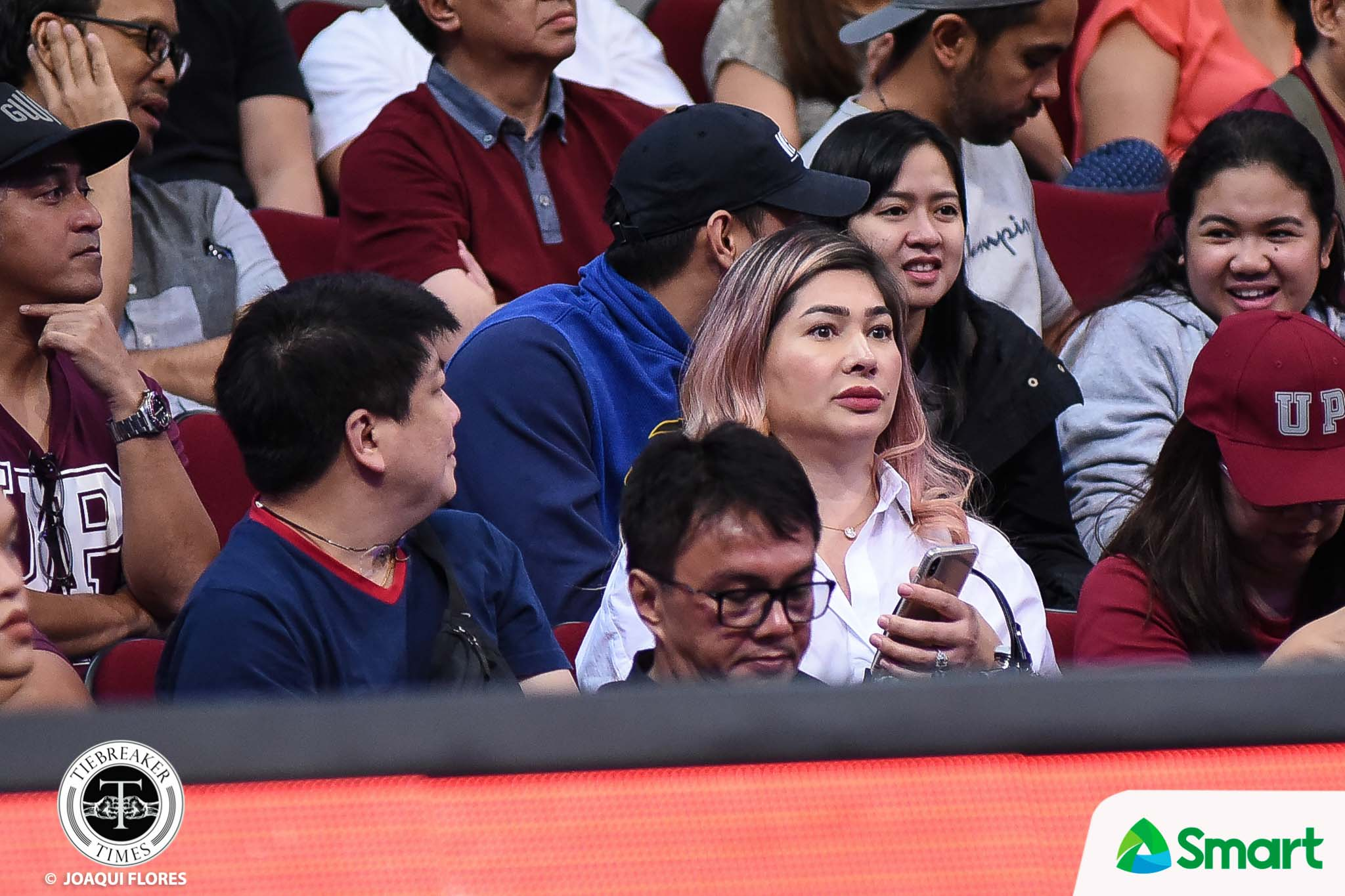 Tiebreaker Times Jackie Forster glad to see Kobe Paras find home in UP Basketball News UAAP UP  UP Men's Basketball UAAP Season 82 Men's Basketball UAAP Season 82 Kobe Paras Jackie Forster
