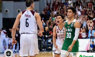 Tiebreaker Times Andrei Caracut has no regrets despite disappointing finale Basketball DLSU News UAAP  UAAP Season 82 Men's Basketball UAAP Season 82 DLSU Men's Basketball Andrei Caracut