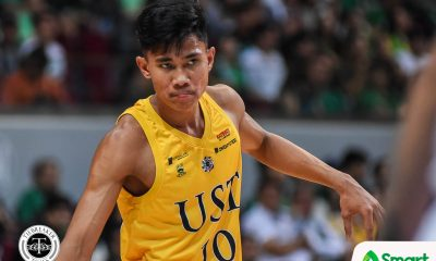 Tiebreaker Times Rhenz Abando reaffirms commitment to UST Basketball News UST  UST Men's Basketball UAAP Season 82 Men's Basketball UAAP Season 82 Rhenz Abando Aldin Ayo