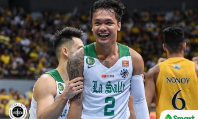 Tiebreaker Times Losses led to Encho Serrano changing demeanor Basketball DLSU News UAAP  UAAP Season 82 Men's Basketball UAAP Season 82 Gian Nazario Encho Serrano DLSU Men's Basketball