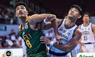 Tiebreaker Times Jamike Jarin pays tribute to young NU Bulldogs after breakthrough win Basketball News NU UAAP  UAAP Season 82 Men's Basketball UAAP Season 82 NU Men's Basketball Migs Oczon Jamike Jarin