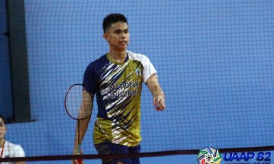 Tiebreaker Times Keeyan Gabuelo powers NU sweep of Ateneo to open six-peat bid ADMU AdU Badminton DLSU News NU UAAP UE UST  Yugin Tan UST Men's Badminton UE Men's Badminton UAAP Season 82 Men's Badminton UAAP Season 82 Thirdy Bacalso Solomon Padiz Sean Dela Cruz Russel Enriquez NU Men's Badminton Lanz Ramirez Keeyan Gabuelo July Villabrille Joshua Morado Josh Defensor Johnrick Macabenta Jan Mangubat James Villarante Eljee Gavile Elbren Concha DLSU Men's Badminton Bless Linaban Ateneo Men's Badminton Adamson Men's Badminton
