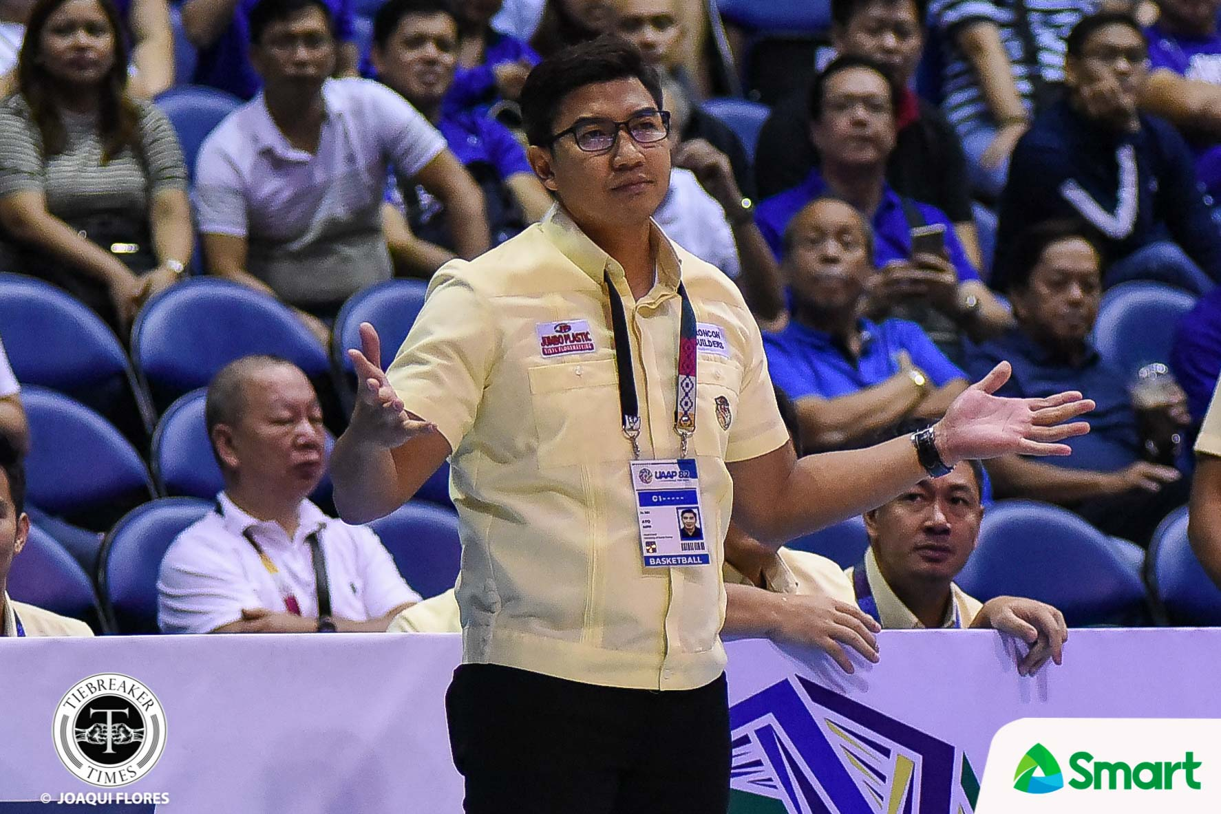 Tiebreaker Times UST assures appropriate action as 'Bicol bubble' probe begins Basketball News UAAP UST  UST Men's Basketball UAAP Season 83 Men's Basketball UAAP Season 83 Coronavirus Pandemic Aldin Ayo