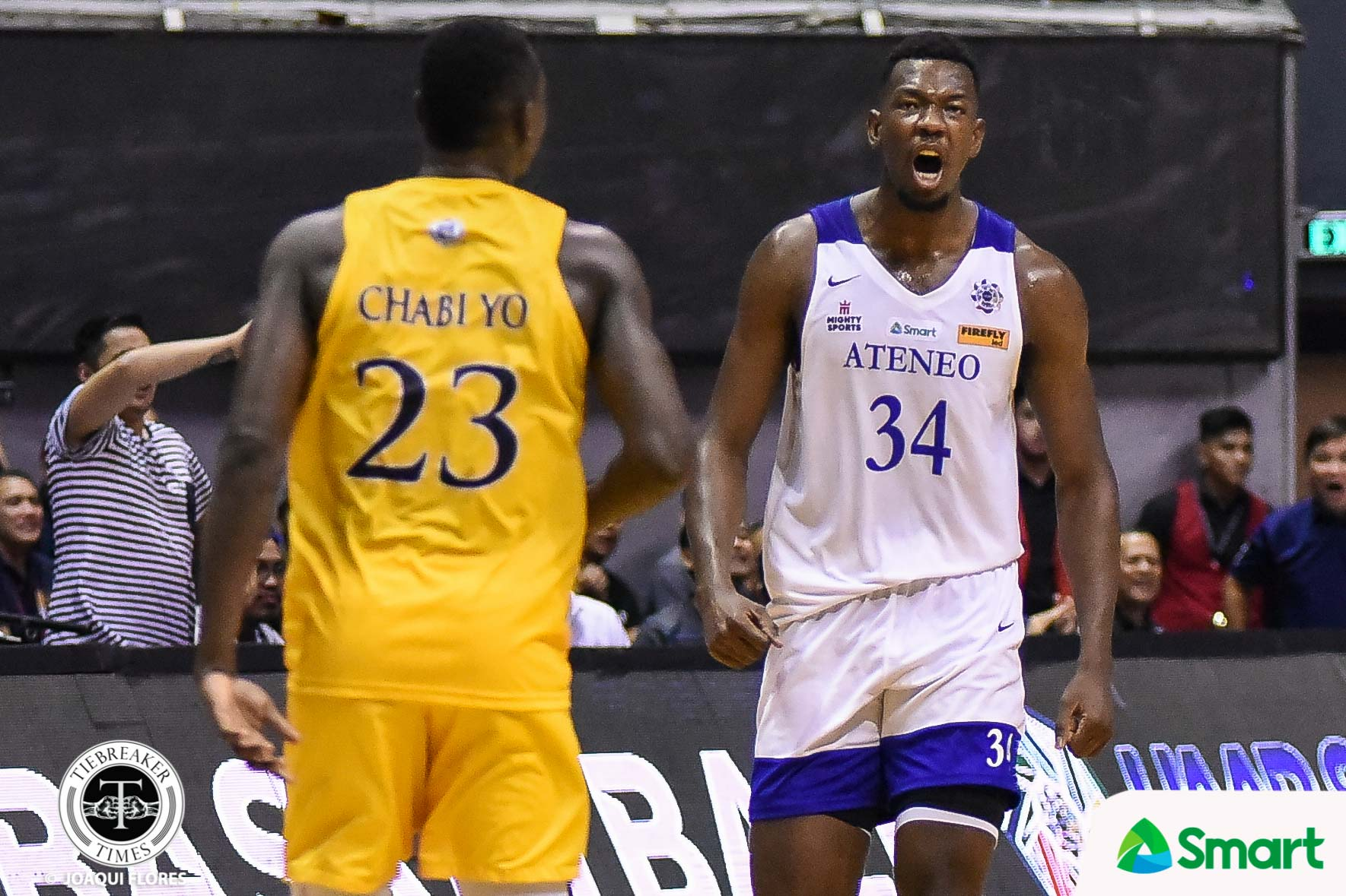UAAP-82-Mens-Basketball-ADMU-vs.-UST-Kouame-9939 Angelo Kouame's naturalization now in congress Basketball Gilas Pilipinas News  - philippine sports news