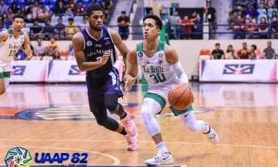 Tiebreaker Times Andrei Caracut takes over late as La Salle stuns Adamson Basketball DLSU News UAAP UP  UAAP Season 82 Men's Basketball UAAP Season 82 Gian Nazario Franz Pumaren DLSU Men's Basketball Adamson Men's Basketball
