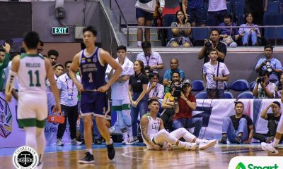 Tiebreaker Times Kurt Lojera sinks winner as La Salle averts collapse vs NU Basketball DLSU News NU UAAP  UAAP Season 82 Men's Basketball UAAP Season 82 Shaun Ildefonso NU Men's Basketball Kurt Lojera Justine Baltazar Jamike Jarin Jamie Orme-Malonzo Jamie Orme Gian Nazario DLSU Men's Basketball