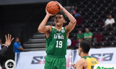 Tiebreaker Times Justine Baltazar grateful to finally get Gilas' notice 2019 SEA Games Basketball DLSU News UAAP  UAAP Season 82 Men's Basketball UAAP Season 82 Justine Baltazar Gilas Pilipinas Men DLSU Men's Basketball 2019 SEA Games - Basketball