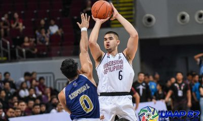 Tiebreaker Times UP Fighting Maroons survive NU for third win Basketball News NU UAAP UP  UP Men's Basketball UAAP Season 82 Men's Basketball UAAP Season 82 Shaun Ildefonso NU Men's Basketball Kobe Paras Javi Gomez de Liano Jamike Jarin Issa Gaye Dave Ildefonso Bright Akhuetie Bo Perasol