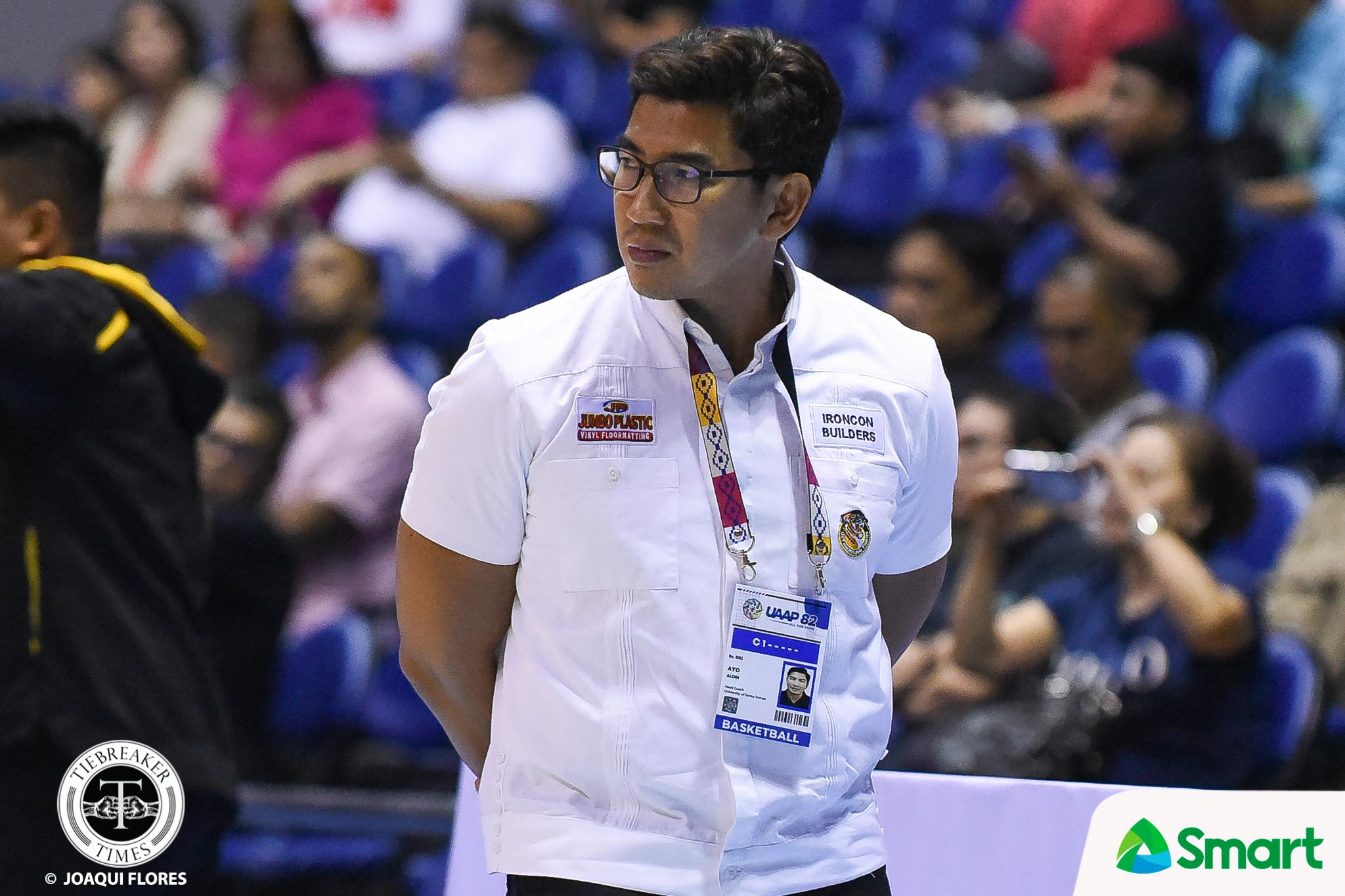 Tiebreaker Times CHED chairperson says UST heads should be accountable for Bicol bubble Basketball News UAAP UST  UST Men's Basketball UAAP Season 83 Men's Basketball UAAP Season 83 Prospero De Vera III Commission on Higher Education Aldin Ayo