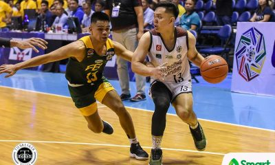 Tiebreaker Times UP's shorter-than-expected shorts one of the distraction Maroons had to go through Basketball News UAAP UP  UP Men's Basketball UAAP Season 81 Men's Basketball UAAP Season 81 Bo Perasol