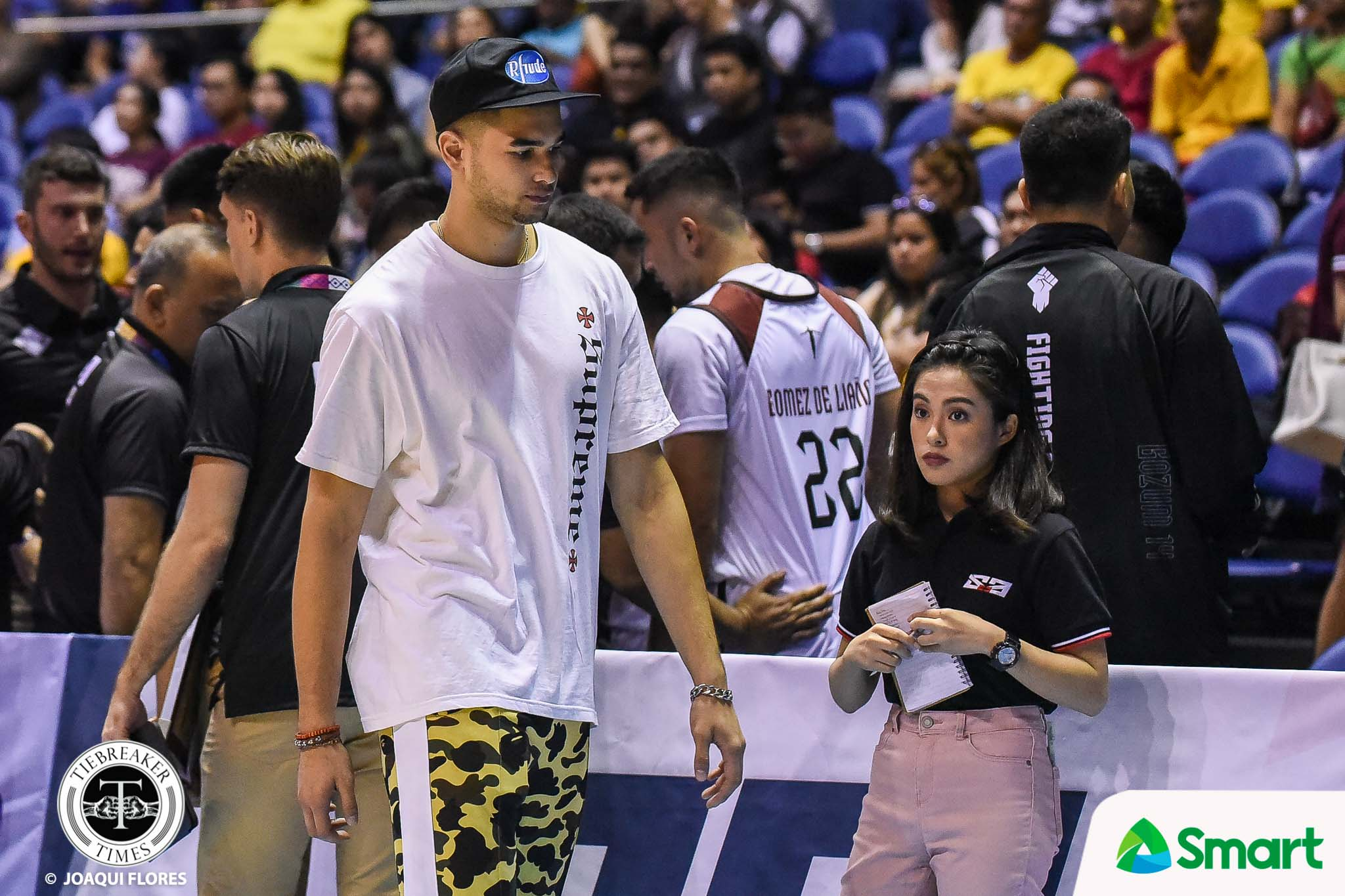 Tiebreaker Times Kobe Paras remains day-to-day due to right ankle sprain Basketball News UAAP UP  UP Men's Basketball UAAP Season 82 Men's Basketball UAAP Season 82 Kobe Paras Bo Perasol