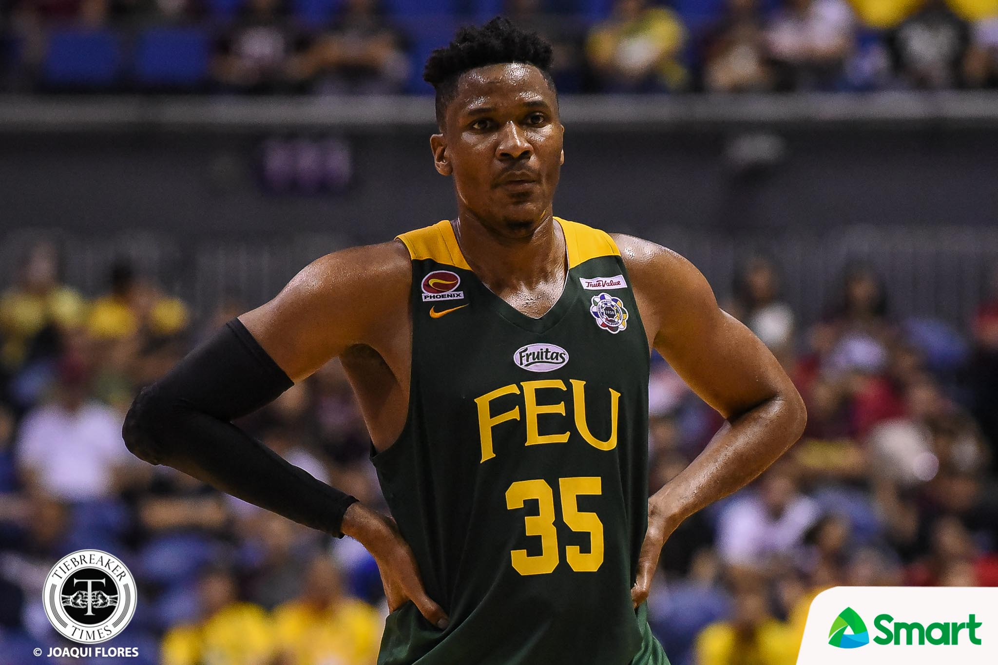 Tiebreaker Times Emman Ojuola sees sit out year as 'blessing in disguise' Basketball FEU News UAAP  UAAP Season 82 Men's Basketball UAAP Season 82 FEU Men's Basketball emman ojuola