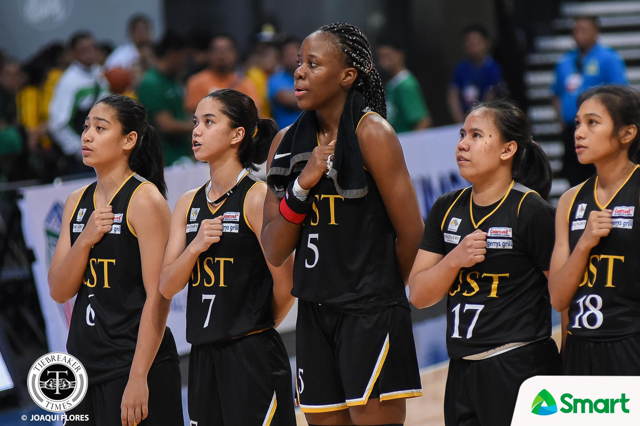 Tiebreaker Times Grace Irebu powers UST to solo second, deals La Salle 29-point rout Basketball DLSU News UAAP UST  UST Women's Basketball UAAP Season 82 Women's Basketball UAAP Season 82 Lon Rivera Kent Pastrana Haydee Ong Grace Irebu DLSU Women's Basketball Cholo Villanueva Bennette Revillosa