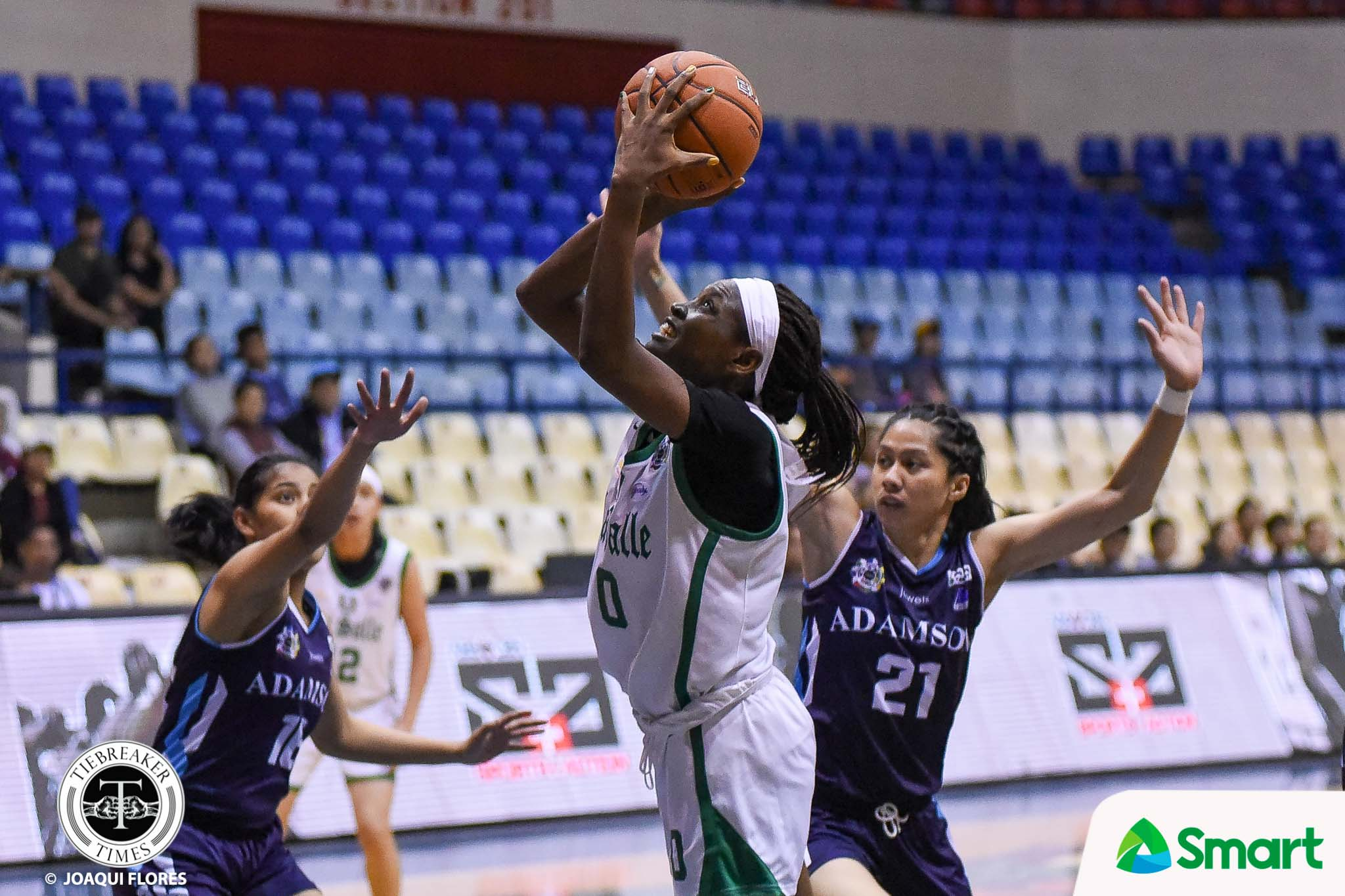 Tiebreaker Times La Salle shackles Mar Prado, stops Adamson's three-game winning streak AdU Basketball DLSU News UAAP  UAAP Season 82 Women's Basketball UAAP Season 82 Mar Prado Lhyn Bilbao Lee Sario Kent Pastrana Ewon Arayi DLSU Women's Basketball Cholo Villanueva Angel Quingco Adamson Women's Basketball