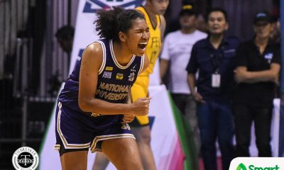 Tiebreaker Times Animam, NU Lady Bulldogs shrug off slow start vs FEU for 81st straight win Basketball FEU News NU UAAP  Valerie Mamaril UAAP Season 81 Women's Basketball UAAP Season 81 Rhena Itesi Patrick Aquino NU Women's Basketball Kelli Hayes Jack Animam FEU Women's Basketball Clare Castro Camille Clarin Bert Flores Angelica Surada