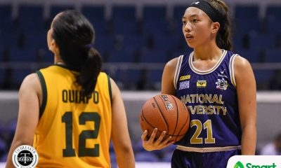 Tiebreaker Times Camille Clarin credits NU vets for seamless transition Basketball News NU UAAP  UAAP Season 82 Women's Basketball UAAP Season 82 NU Women's Basketball Jack Animam Camille Clarin