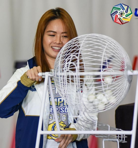 Tiebreaker Times NU Pep's Ghicka Bernabe on lucky pick: 'Eight is better than one' Cheerleading News NU UAAP  UAAP Season 82 Cheerdance Competition UAAP Season 82 NU Pep Squad Ghicka Bernabe