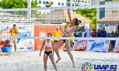 Tiebreaker Times UST extends streak to 22, La Salle's Tiamzon-Jazareno outlasts FEU to keep perfect slate ADMU AdU Beach Volleyball DLSU FEU News NU UAAP UE UP UST  UST Women's Volleyball UP Women's Volleyball UE Women's Volleyball UAAP Season 82 Women's Beach Volleyball UAAP Season 82 Tin Tiamzon Rosie Rozier Roma Mae Doromal Ponggay Gaston NU Women's Volleyball Justine Jazareno Gen Eslapor FEU Women's Volleyball Euri Eslapor DLSU Women's Volleyball Babylove Barbon Ateneo Women's Volleyball Adamson Women's Volleyball