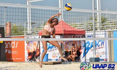 Tiebreaker Times Tin Tiamzon looks to leave lasting legacy to La Salle Beach Volleyball DLSU News UAAP  UAAP Season 82 Women's Beach Volleyball UAAP Season 82 Tin Tiamzon DLSU Women's Volleyball