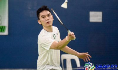 Tiebreaker Times Christian Bernardo ends La Salle losing streak to UP to go to 3-0 AdU Badminton DLSU News NU UAAP UE UP UST  Vinci Manuel UST Men's Badminton UP Men's Badminton UE Men's Badminton UAAP Season 82 Men's Badminton UAAP Season 82 Solomon Padiz Sean Dela Cruz Russel Enriquez NU Men's Badminton Michael Clemente Lanz Ramirez Keeyan Gabuelo July Villabrille Josh Defensor JM Bernardo Jan Mangubat James Villarante Henry Peralta Harvey Tungul Eric Peralta DLSU Men's Badminton Christian Bernardo Angelo David Andrew Pineda Adamson Men's Badminton