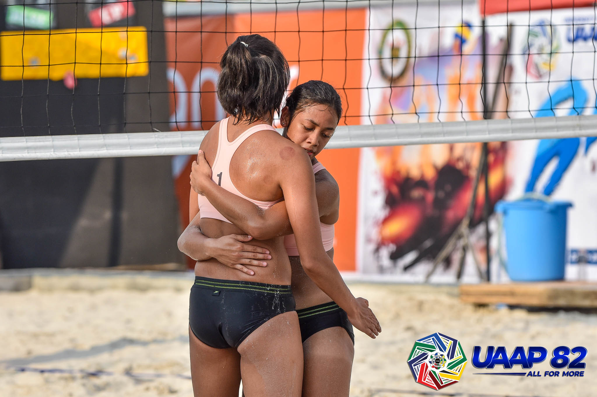 UAAP-Season-82-womens-beach-volleyball-DLSU-ERNESTINE-TIAMZON-JUSTINE-JAZARENO Tin Tiamzon looks to leave lasting legacy to La Salle Beach Volleyball DLSU News UAAP  - philippine sports news