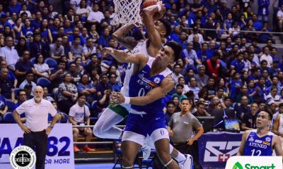 Tiebreaker Times Jamie Malonzo admits emotions got ahead of him in dunk over Thirdy Ravena Basketball DLSU News UAAP  UAAP Season 82 Men's Basketball UAAP Season 82 Jamie Orme-Malonzo Jamie Orme DLSU Men's Basketball