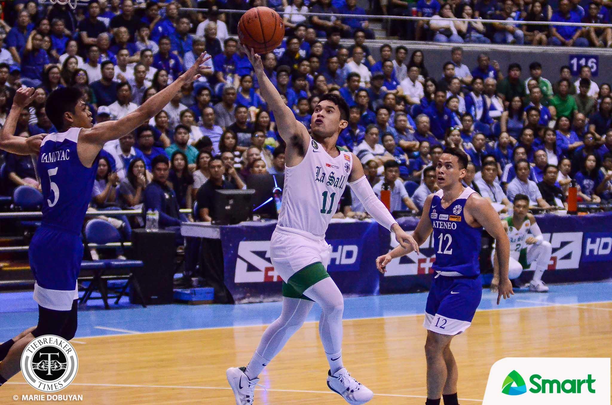 UAAP82-Mens-Basketball-ADMU-DLSU-Melecio-4241 Mac Cardona was more than just a scorer, says Derrick Pumaren Basketball DLSU News  - philippine sports news