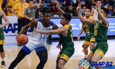 Tiebreaker Times Ateneo limits FEU to season-low, cruises to fourth straight win ADMU Basketball FEU News UAAP  UAAP Season 82 Men's Basketball UAAP Season 82 Thirdy Ravena Tab Baldwin Olsen Racela FEU Men's Basketball Ateneo Men's Basketball Angelo Kouame angelo akoume Adrian Wong