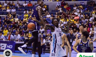 Tiebreaker Times Lenda Douanga vindicates Pumaren decision to pick him over Sarr AdU Basketball News UAAP  UAAP Season 82 Men's Basketball UAAP Season 82 Lenda Douanga Franz Pumaren