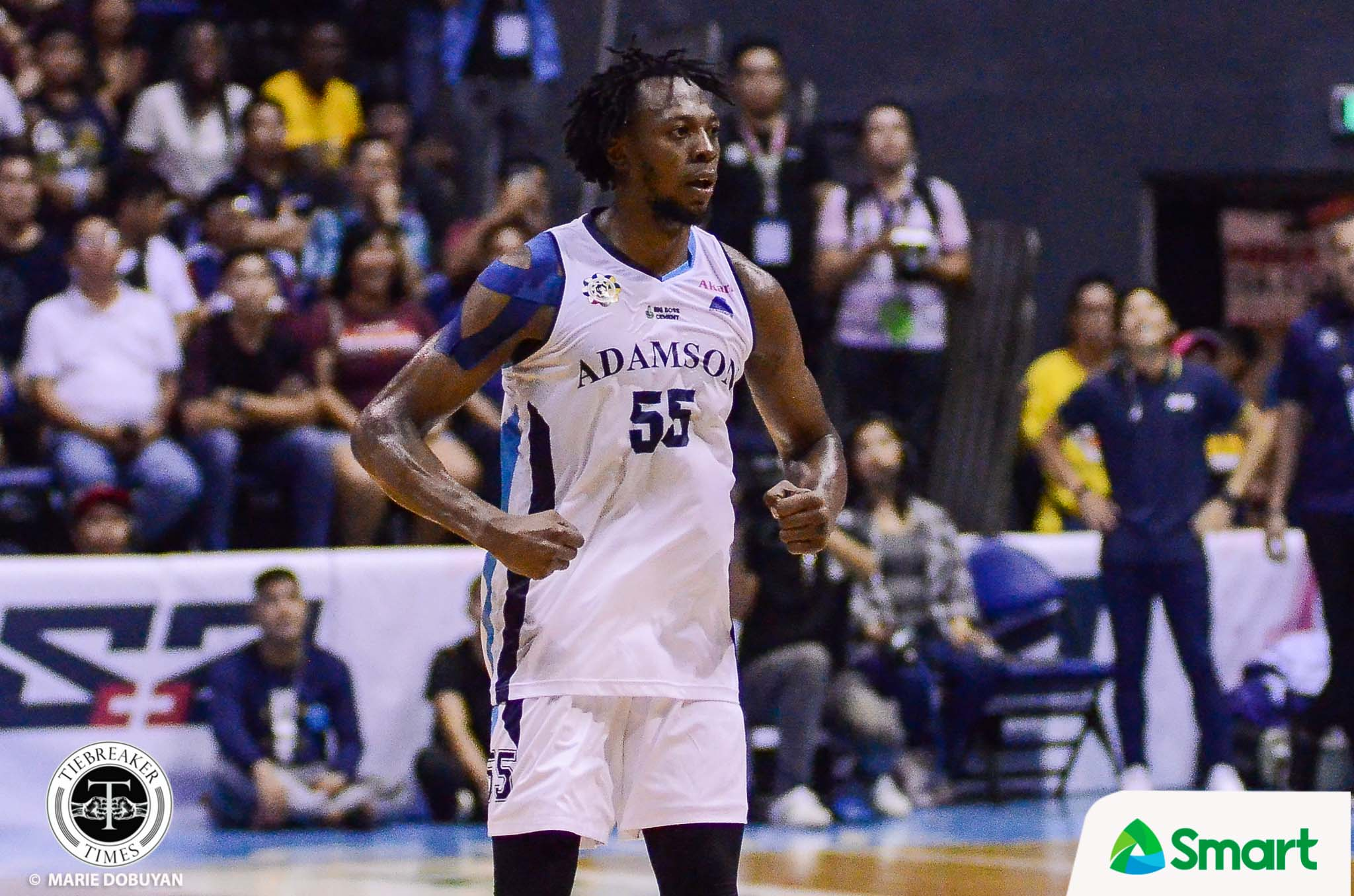 Tiebreaker Times Jamike Jarin rues crucial non-call: 'It was a clear five-second violation' Basketball News NU UAAP  UAAP Season 82 Men's Basketball UAAP Season 82 NU Men's Basketball Jamike Jarin