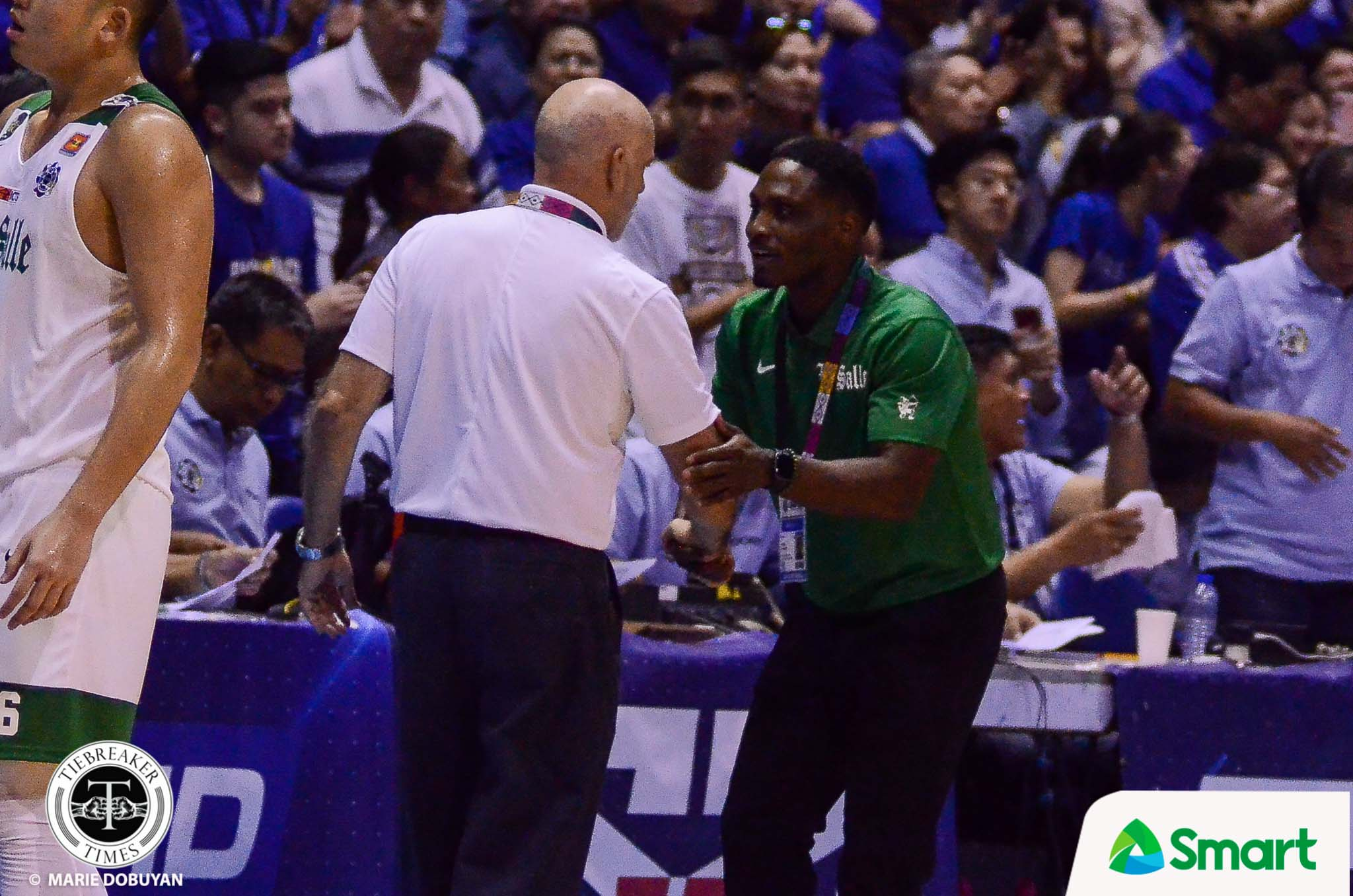 Tiebreaker Times Jermaine Byrd shares pride in competing against Tab Baldwin Basketball DLSU News UAAP  UAAP Season 82 Men's Basketball UAAP Season 82 Jermaine Byrd DLSU Men's Basketball