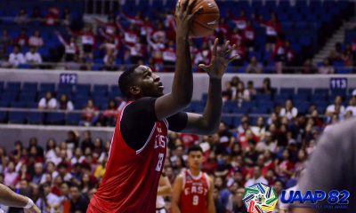 Tiebreaker Times UE Red Warriors send NU crashing down, end round on high note Basketball News NU UAAP UE  UE Men's Basketball UAAP Season 82 Men's Basketball UAAP Season 82 Shaun Ildefonso Rey Suerte Philip Manalang Patrick Yu NU Men's Basketball Neil Tolentino Lawrence Chongson Jamike Jarin Adama Diakhite
