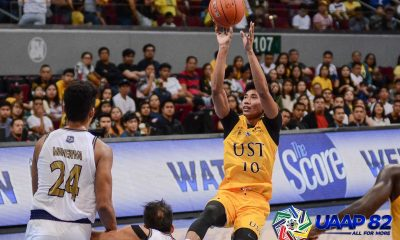 Tiebreaker Times Rhenz Abando being courted by two schools Basketball News UAAP UST  UST Men's Basketball UAAP Season 82 Men's Basketball UAAP Season 82 Rhenz Abando