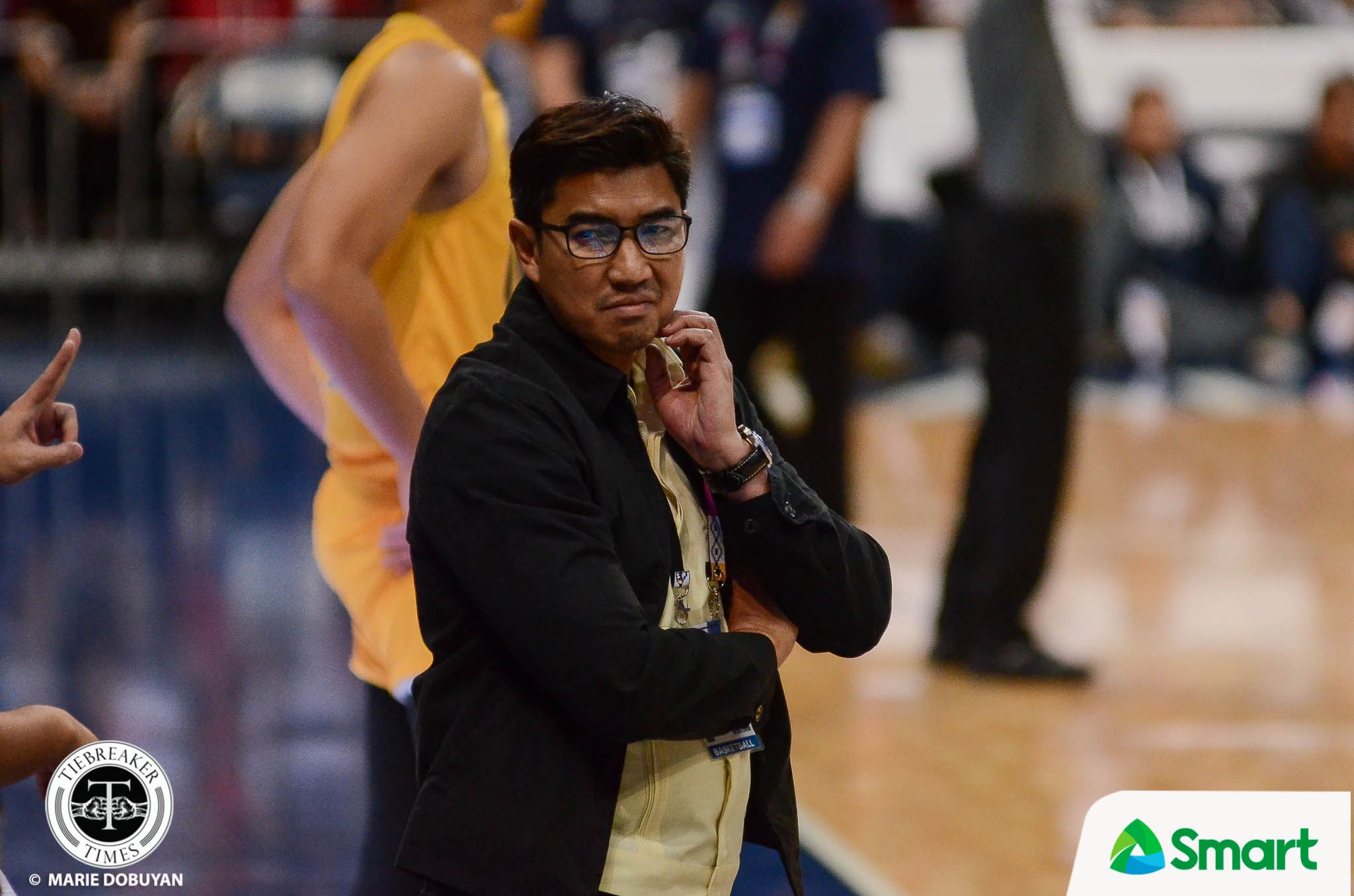 Tiebreaker Times Aldin Ayo shoulders blame for UST meltdown: 'Kung may sisisihin diyan ako' Basketball News UAAP UST  UST Men's Basketball UAAP Season 82 Men's Basketball UAAP Season 82 Aldin Ayo