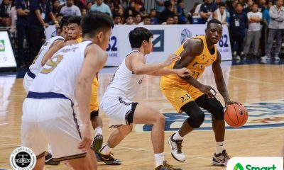 Tiebreaker Times Loss to Ateneo powered UST comeback, says Chabi Yo Basketball News UAAP UST  UST Men's Basketball UAAP Season 82 Men's Basketball UAAP Season 82 Soulemane Chabi Yo
