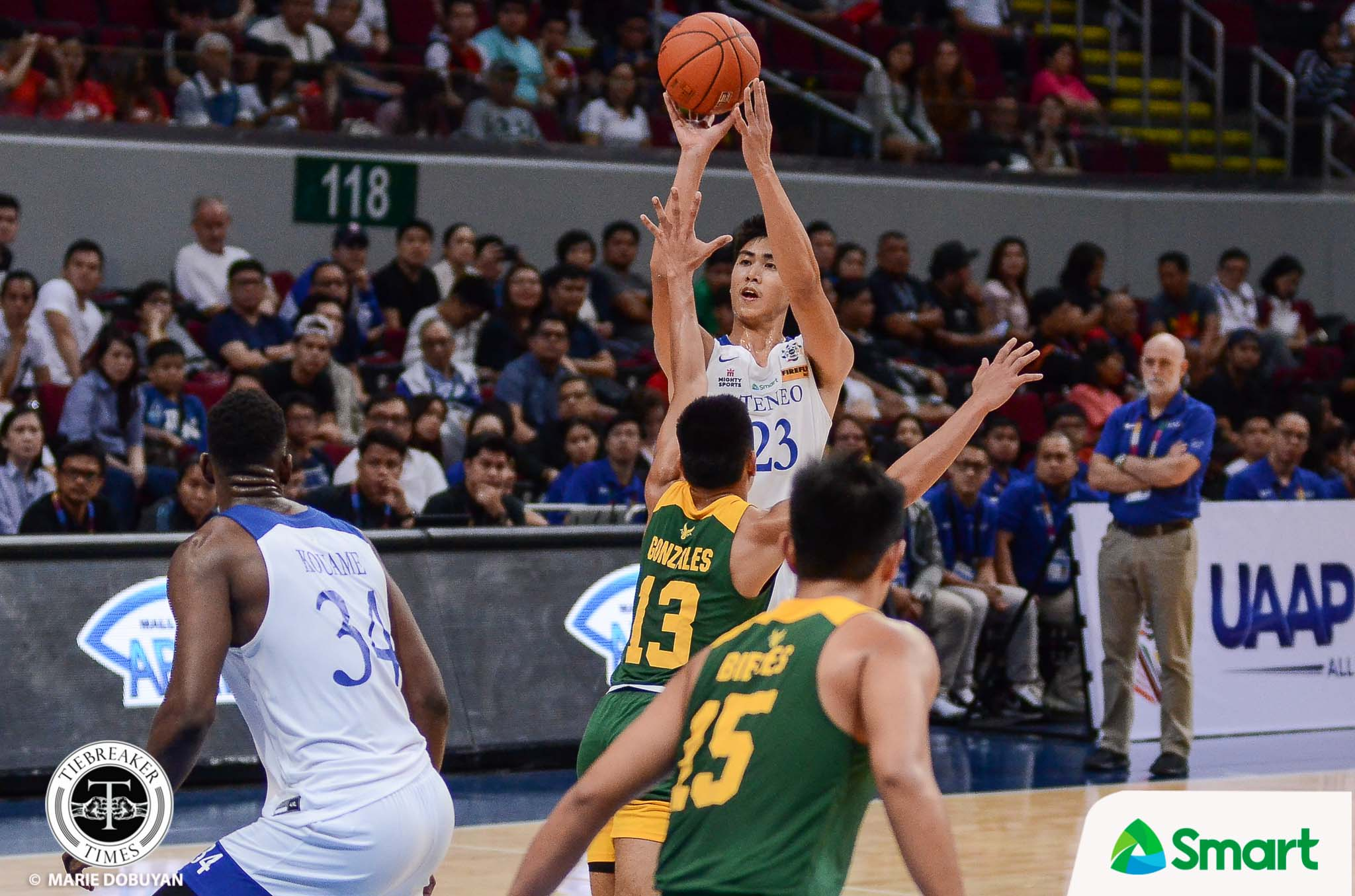 Tiebreaker Times Navarro draws high praise from Baldwin: 'It's not about highlights, it's about efficiency' ADMU Basketball News UAAP  William Navarro UAAP Season 82 Men's Basketball UAAP Season 82 Thirdy Ravena Tab Baldwin Ateneo Men's Basketball