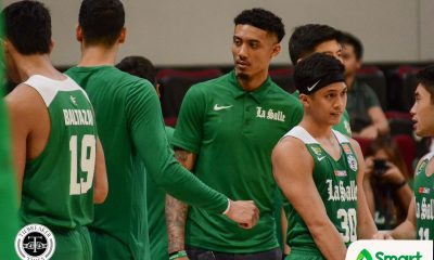 Tiebreaker Times Jamie Malonzo 'heartbroken' as he could not join La Salle vs UE Basketball DLSU News UAAP  UAAP Season 82 Men's Basketball UAAP Season 82 Jamie Orme-Malonzo Jamie Orme DLSU Men's Basketball