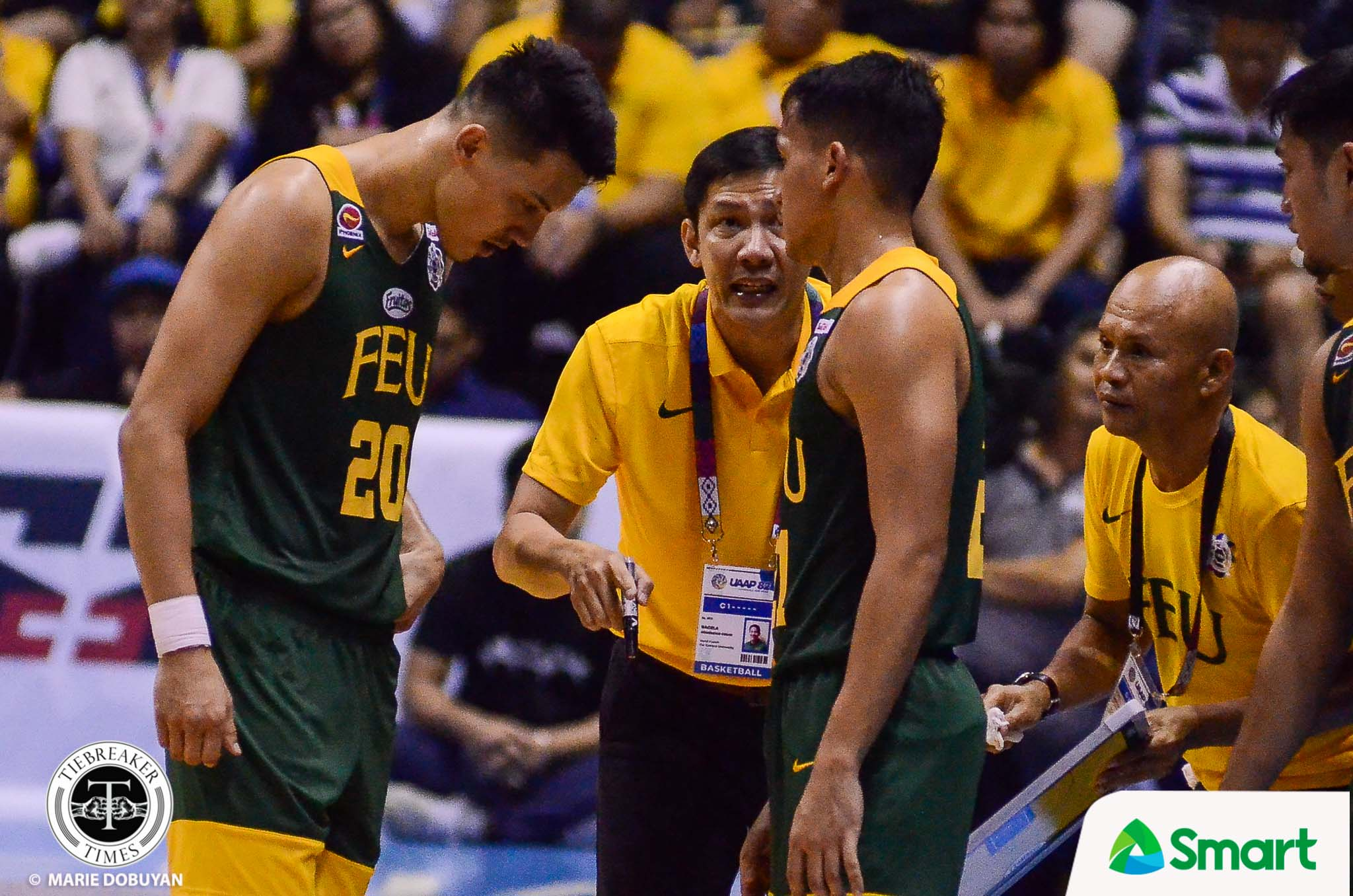 Tiebreaker Times FEU will continue on with guard tradition, says Olsen Racela Basketball FEU News UAAP  UAAP Season 82 Men's Basketball UAAP Season 82 Olsen Racela FEU Men's Basketball