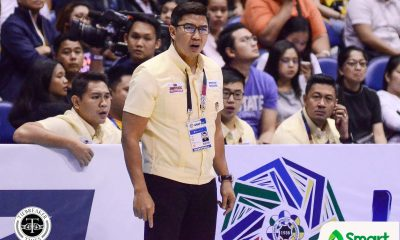 Tiebreaker Times UAAP BMD to deliberate UST, NU reports as possible league sanctions loom Basketball News NU UAAP UST Volleyball  UST Men's Basketball UAAP Season 83 Women's Volleyball UAAP Season 83 Men's Basketball UAAP Season 83 Otie Camangian NU Women's Volleyball Coronavirus Pandemic Atty. Melvin Verzosa Atty. Elgin Perez