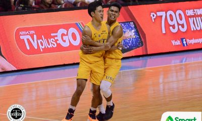 Tiebreaker Times Nonoy, Subido lead UST breakaway, downs fancied UP for 2-0 start Basketball News UAAP UP UST  UST Men's Basketball UP Men's Basketball UAAP Season 82 Men's Basketball UAAP Season 82 Soulemane Chabi Yo Rhenz Abando Renzo Subido Mark Nonoy Jaydee Tungcab Javi Gomez de Liano Bright Akhuetie Bo Perasol Aldin Ayo