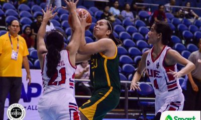 Tiebreaker Times Clare Castro imposes will as FEU staves off UE for first win Basketball FEU News UAAP UE  UE Women's Basketball UAAP Season 82 Women's Basketball UAAP Season 82 Princess Pedregosa Jearzy Ganade FEU Women's Basketabll fatima quiapo Clare Castro Blanche Bahuyan Bert Flores Ai Lebornio