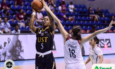 Tiebreaker Times UST Tigresses flaunt depth, give UP harsh 55-point rout Basketball News UAAP UP UST  UST Women's Basketball UP Women's Basketball UAAP Season 82 Women's Basketball UAAP Season 82 Tantoy Ferrer Ruby Portillo Rei Sanchez Lon Rivera Jeorge Panti Haydee Ong Grace Irebu Aly Gonzales