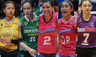 Tiebreaker Times PVL stars face availability concerns for ASEAN GP second leg News PVL UST Volleyball  UST Women's Volleyball Pacific Town-Army Lady Troopers Maddie Madayag Jovelyn Gonzaga Jia Morado Eya Laure Creamline Cool Smashers Choco Mucho Flying Titans Alyssa Valdez 2019 SEA Grand Prix 2019 PVL Season 2019 PVL Open Conference 2019 PVL Collegiate Conference