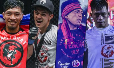 Tiebreaker Times Road to ONE: Century begins for Team Lakay Mixed Martial Arts News ONE Championship  Team Lakay ONE: Century Mark Sangiao Lito Adiwang Kevin Belingon Honorio Banario Danny Kingad
