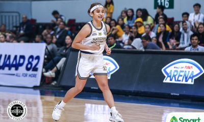 Tiebreaker Times Christiana Dimaunahan makes NU debut six months after ACL tear Basketball News NU UAAP  UAAP Season 82 Women's Basketball UAAP Season 82 NU Women's Basketball Christiana Dimaunahan