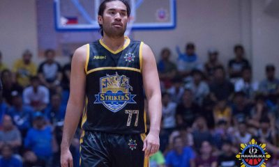 Tiebreaker Times Gab Banal leads Bacoor to fifth straight win, Caloocan continues surge Basketball MPBL News  William McAloney Thomas Torres SOCCSARGEN Marlins Rene Pacquiao Paul Sanga Mark Montuano King Destacamento Kevin Villafranca John Ambulodto Gab Banal Cebu Sharks Carlo Escalambre Biñan City-Krah Heroes Bicol Volcanoes Bacoor Strikers 2019-20 MPBL Lakan Cup
