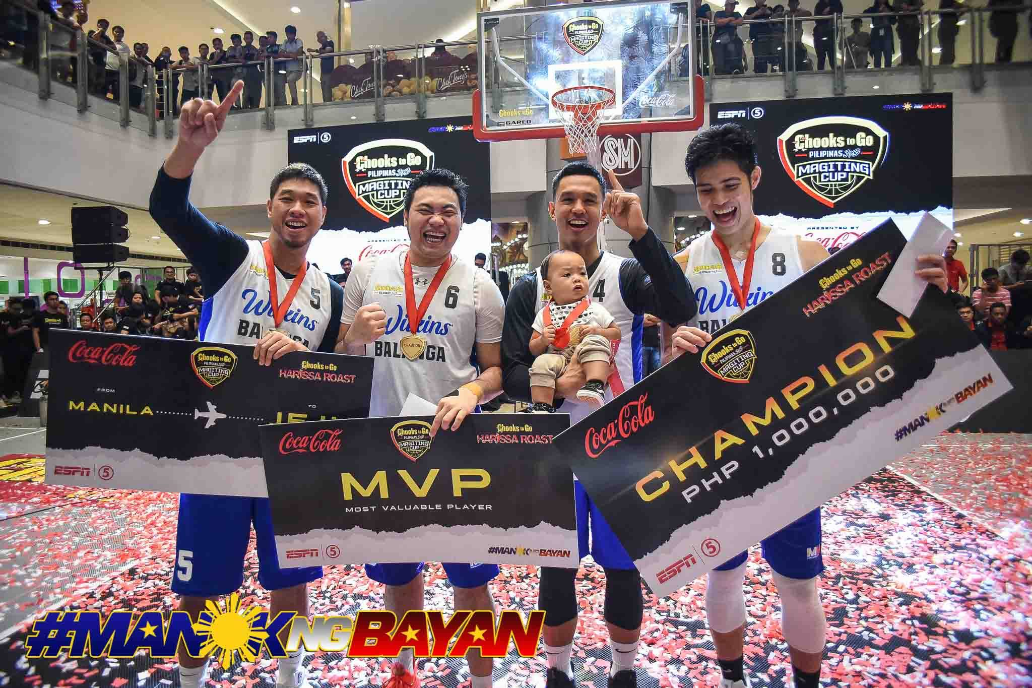 2019-Chooks-to-Go-Magiting-Cup-Balanga-Pure Best of 2020: Munzon, Pasaol, Rike, and Santillan close Chooks 3x3's first chapter 3x3 Basketball Bandwagon Wire Chooks-to-Go Pilipinas 3x3  - philippine sports news