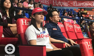Tiebreaker Times Grazielle Bombita spotted wearing Motolite cap, shirt during PVL semis News PVL Volleyball  Motolite Grazielle Bombita 2019 PVL Season 2019 PVL Open Conference